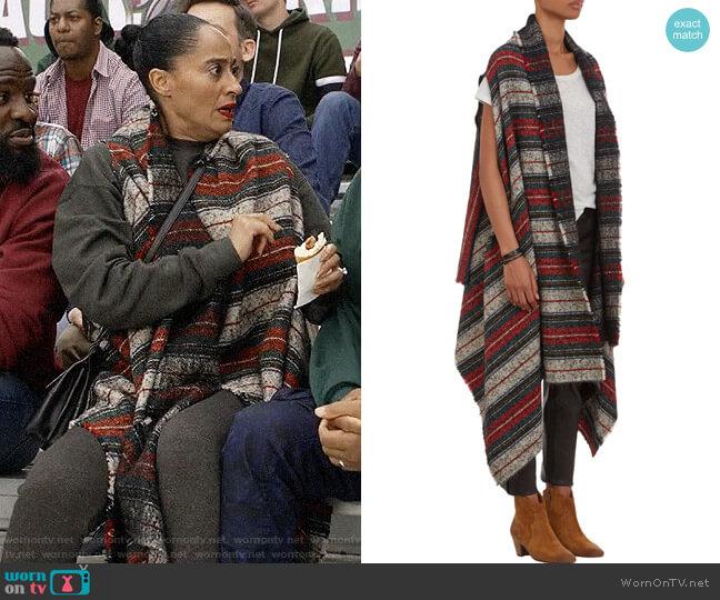 Isabel Marant Idoa Blanket Jacket