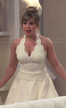 Kristin's wedding dress #2 on Last Man Standing