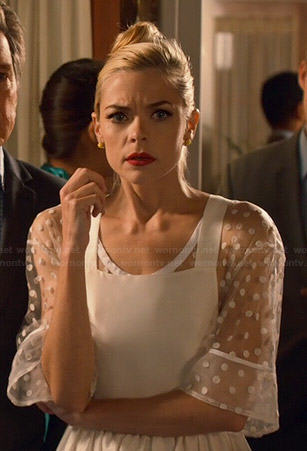 Lemon Breeland Outfits On Hart Of Dixie Jaime King