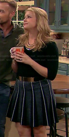 Melissa joan hart tight skirt exact answer