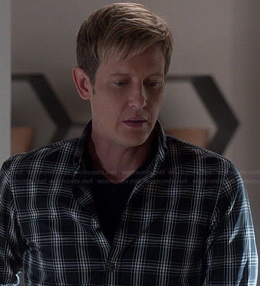 Nolan's black checked shirt on Revenge