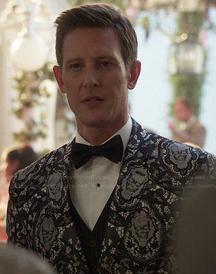 Nolan's skull lace jacket on Revenge