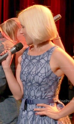 Quinn's blue lace dress on Glee