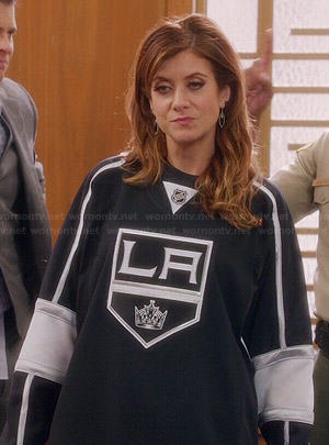 Rebecca's LA Kings jersey on Bad Judge