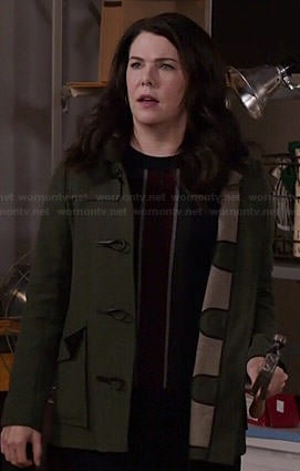 Sarah's toggle coat on Parenthood