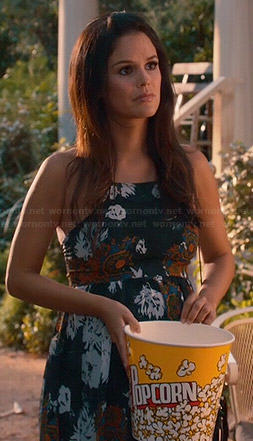 Zoe's floral maxi dress on Hart of Dixie