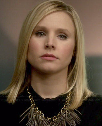 Jeannie's spiked necklace on House of Lies