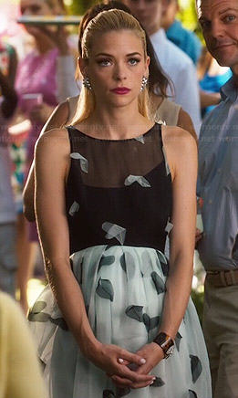 Lemon's blue and black dress on Hart of Dixie