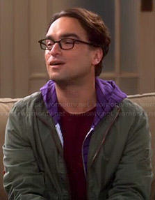 Leonard's red capsaicin molecule shirt on The Big Bang Theory