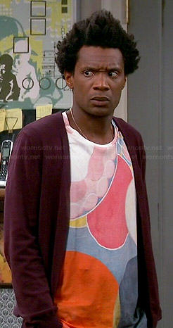 Motif's circles printed t-shirt on Mulaney