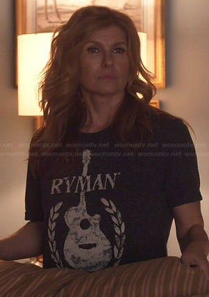 Rayna's Ryman guitar tee on Nashville