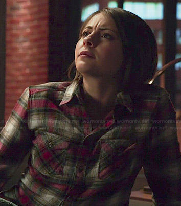 Thea's plaid shirt on Arrow