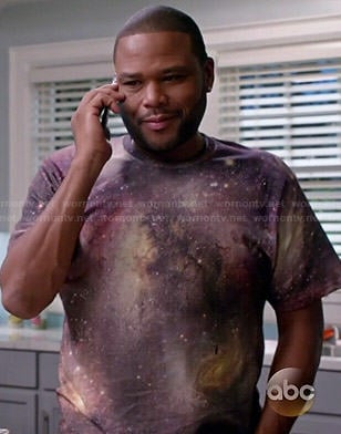 Andre's 77 galaxy tee on Black-ish