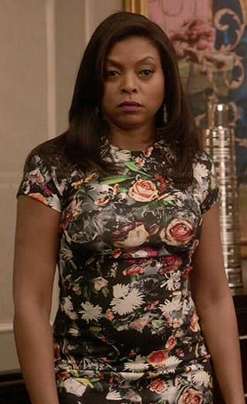 Cookie's floral dress on Empire