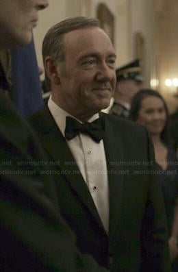 Francis's tuxedo on House of Cards