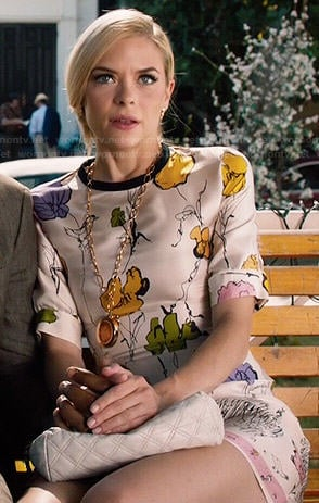 Lemon's floral dress on Hart of Dixie