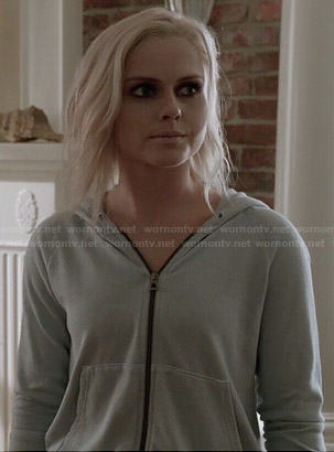 Liv's light blue hoodie on iZombie