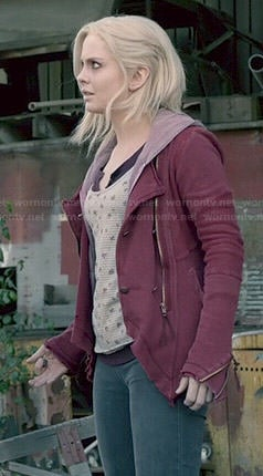 Liv's red jacket on iZombie