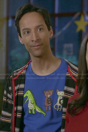 Abed's ABC tee on Community