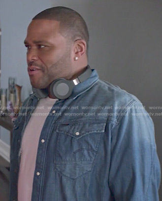 Andre's denim shirt on Black-ish