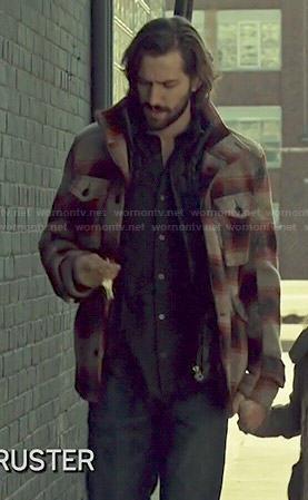 Cal's plaid jacket on Orphan Black
