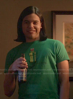 Cisco's Mario pipe tee on The Flash