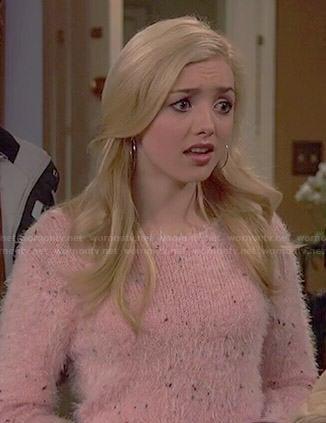 Emma's pink fluffy sweater on Jessie