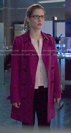 Thea's zip shoulder sweater on Arrow