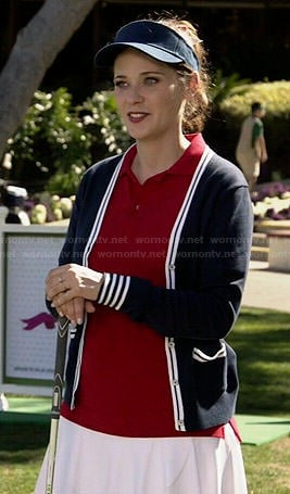 Jess's golfing outfit on New Girl