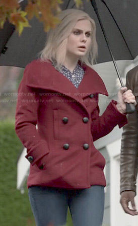 Liv's red coat on iZombie