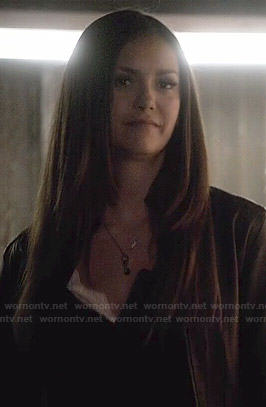 Elena's blue necklace on The Vampire Diaries