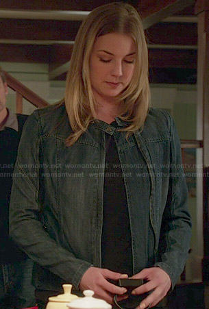 Emily/Amanda's denim jacket on Revenge