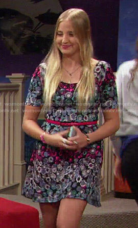 Marisa's multi-colored floral dress on KC Undercover