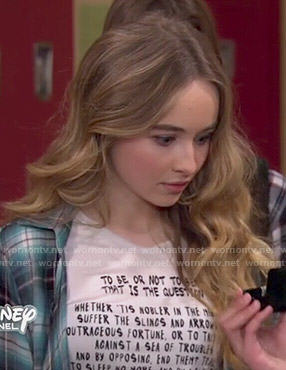 Maya's Hamlet top on Girl Meets World
