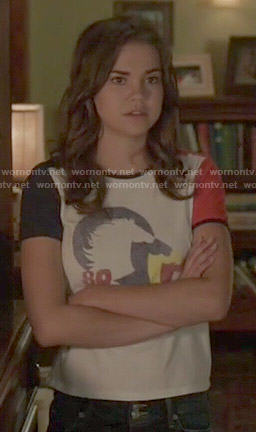 Callie's horse tee on The Fosters