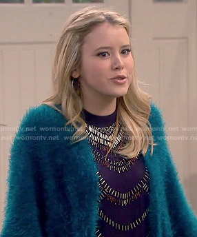 Lennox's beaded top on Melissa and Joey