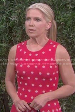 Jennifer's red polka dot dress on Days of our Lives