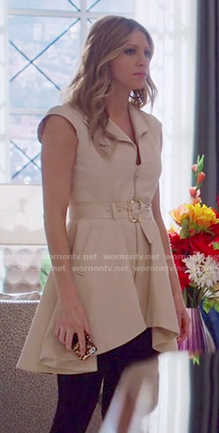 Josslyn's sleeveless trench dress on Mistresses