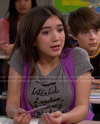 Riley's Istanbul London.. Tee on Girl Meets World