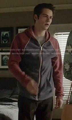 Kira's heart print sweater and burgundy shorts on Teen Wolf