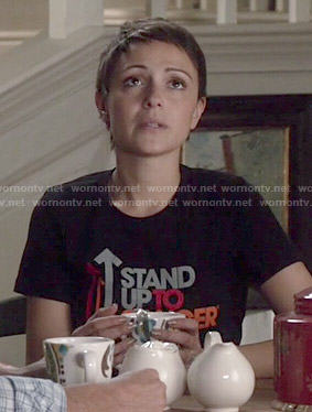April's Stand Up to Cancer Tee on Chasing Life