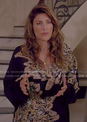 Calista's black textured sweater on Mistresses