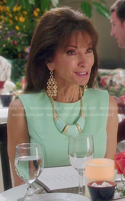 Genvieve's mint dress on Devious Maids