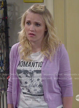 Gabi's Romantique graphic top on Young and Hungry