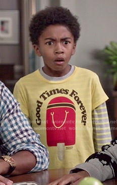 Jack's Good Times Forever tee on Black-ish