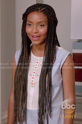 Zoey Johnson Fashion On Black Ish Yara Shahidi Page 6