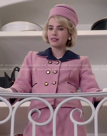 Chanel's Jackie Kennedy costume on Scream Queens