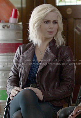 Liv's purple leather jacket on iZombie