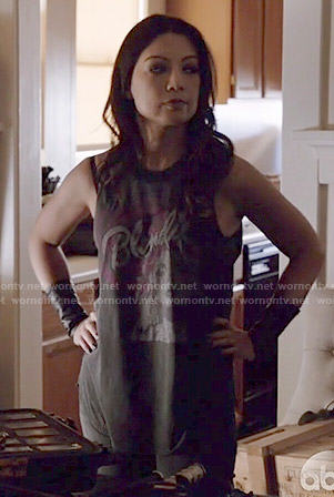Melinda's Blondie tank top on Agents of SHIELD