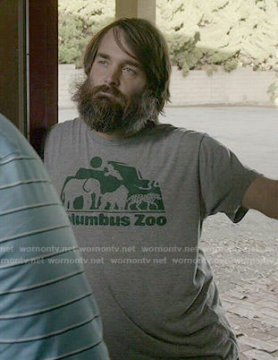 Phil's Columbus Zoo t-shirt on Last Man on Earth